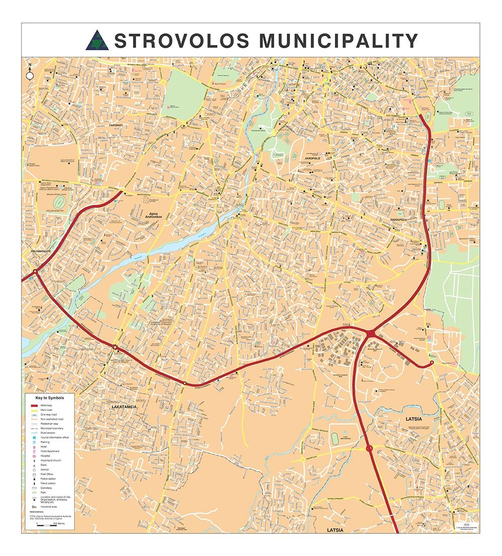 Xarths Dhmoy Stroboloy Strovolos Municipality
